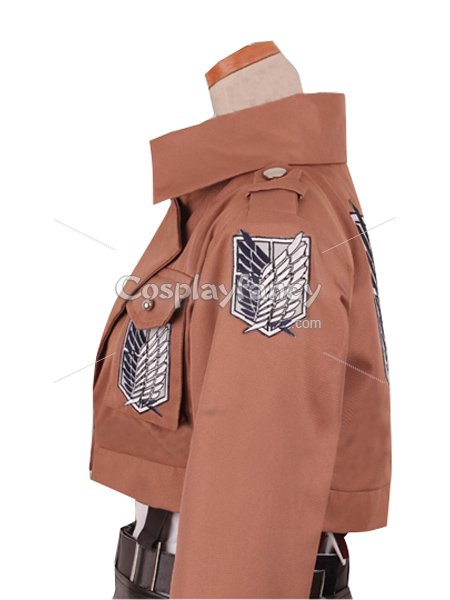 Attack on Titan Eren Jaeger Cosplay Costume Scouting Legion Uniform