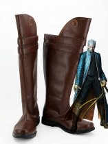 Devil May Cry 3 Cosplay Vergil Video Games Cosplay Boots