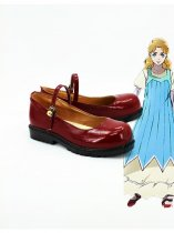 JOJO Erina Joestar Red Cosplay Shoes