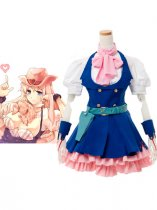 Macross Frontier Sheryl Nome Cotton Cosplay Costume