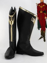 Mobile Suit Gundam Char Aznable Cosplay Boots