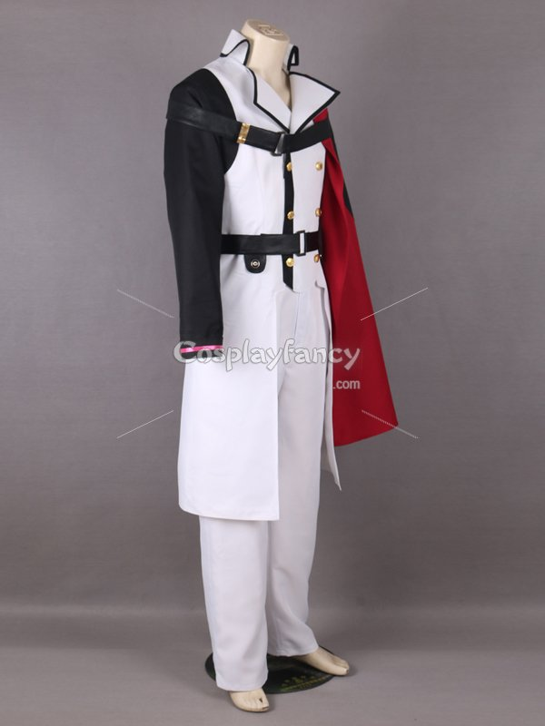 Seraph of the End the Crowley Eusford Vampires Uniform Cosplay Costume