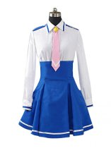 Smile Pretty Cure Nanairogaoka Middle School Winter Uniform for Girls Cosplay Costume