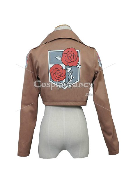 Attack on Titan Hannes Cosplay Costume The Garrison/Stationary Guard Uniform