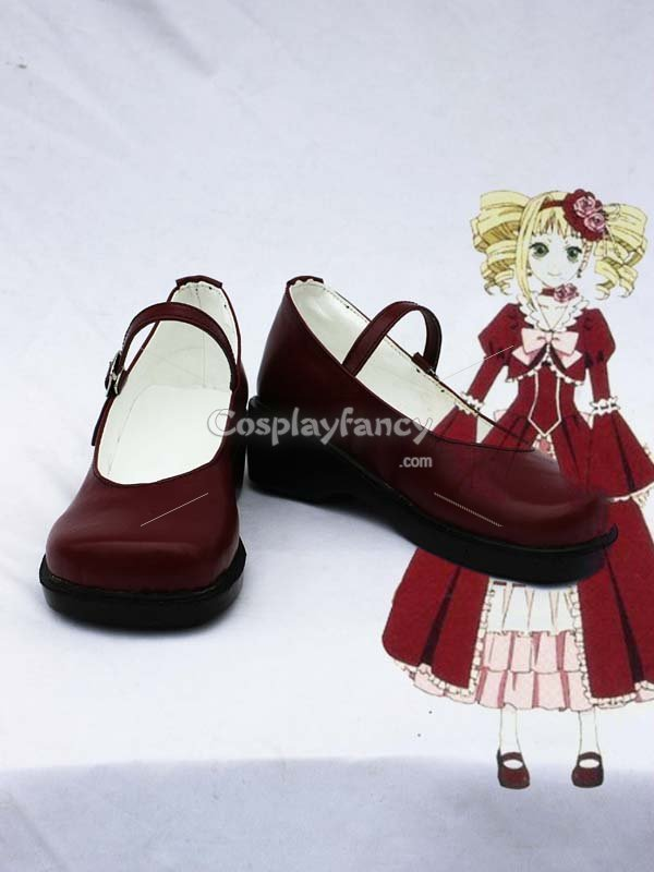 Black Butler Cosplay Elizabeth Wine Cosplay Boots