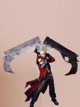 Devil May Cry 4 Dante Twin Submachine Guns Cosplay Double Gun