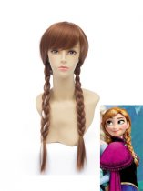 Frozen Princess Anna of Arendelle Cosplay Wig