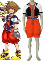 Kingdom Hearts Sora Cosplay Costume 2