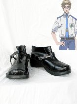 Macross Frontier Michael Blanc Cosplay Shoes