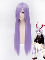 80cm Purple Touhou Project Reisen Udongein Inaba Cosplay Wig