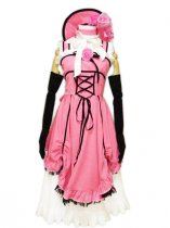Black Butler Cosplay Pretty Pink Female Ciel Cosplay Costume Dress