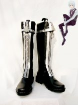 D Gray-Man Allen Walker Big Zipper Cosplay Boots