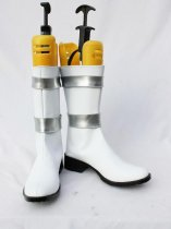 Gundam Seed Cosplay White and Silver Cosplay Boots