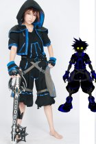 Kingdom Hearts Anti Sora Cosplay Costume