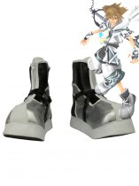 Kingdom Hearts II Sora Final Form Silvery Version Cosplay Boots