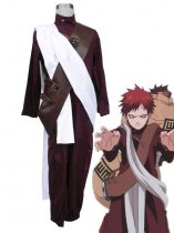 Naruto Cosplay Gaara the Kazekage 3rd Uniform Cosplay Costume