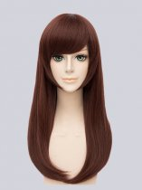 Overwatch D.Va Game Girl Cosplay Wig