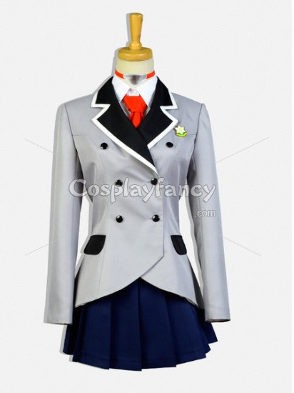 Shimoneta Cosplay Ayame Kajou School Uniform Cosplay Costume - Click Image to Close