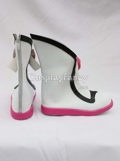 Tales of Graces Sophie White Cosplay Boots - Click Image to Close