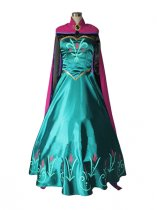 Frozen Elsa the Snow Queen Crowned Cosplay Cosplay Dress
