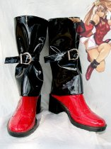 Guilty Gear Jam Kuradoberi Cosplay Boots