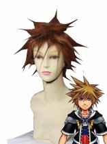 Kingdom Hearts Sora Cosplay Wig