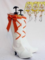 Pretty Cure Heart Catch Cure Sunshine White Cosplay Boots