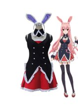Problem Children are Coming from Another World Black Rabbit Cosplay Costume