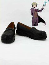 Unlight Acolyte Blau Black Cosplay Shoes