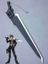 Final Fantasy VIII Squall Leonhart Black Wood Cosplay Sword