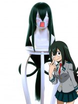 Froppy My Hero Academy Tsuyu Asui Anime Cosplay Wig