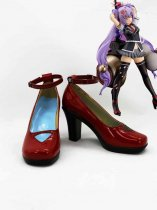 Hyakka Ryoran Samurai Girls Cosplay Kanetsugu Naoe Cosplay Shoes
