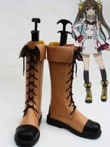 Infinite Stratos Huang Lingyin Coplay Boots