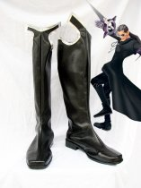 Kingdom Hearts Cosplay Xigbar Black Cosplay Boots