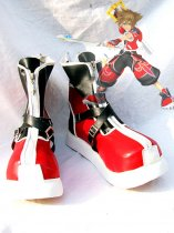 Kingdom Hearts II Sora Red Version Cosplay Boots