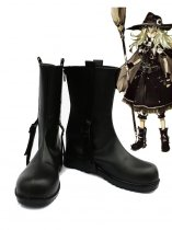 Touhou Project Kirisame Marisa Black Cosplay Boots