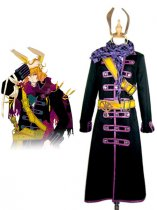 Wonderful Wonder World Cosplay Black Cope Cosplay Costume