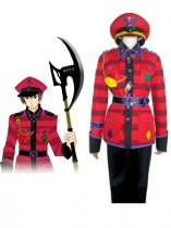 Wonderful Wonder World Cosplay Tweedle Dum Cosplay Costume