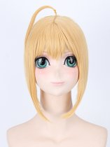43cm Fate Stay Night/Fatezero Saber Cosplay Wig