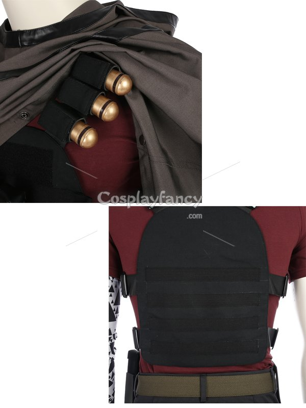 Cable Superhero Suit Deadpool 2 Cable Cosplay Costume