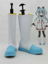 Celestial Method Noel White & Blue Cosplay Boots