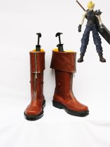 Final Fantasy VII Cosplay Cloud Strife Brown Boots
