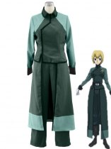 Gundam 00 A-LAWS Female Military Cosplay Costume