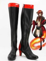Kamigami no Asobi Norse God of Fire Loki Laevatein Cosplay Boots
