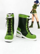 King of Fighter 96 Leona Heidern Cosplay Boots
