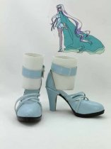 Macorss Frontier -Itsuwari no Utahime Sheryl Nome Light Blue Coplay Shoes