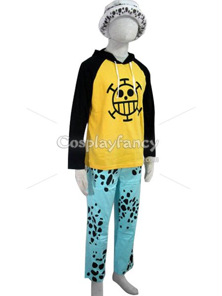 One Piece Cosplay Trafalgar Law Cosplay Costume