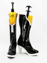 Vocaloid Black Rock Shooter Female Hight Heel Cosplay Boots