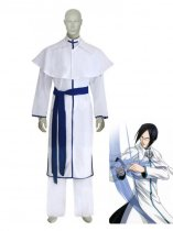 Bleach Cosplay Ishida Uryuu 3rd Uniform Cosplay Costume