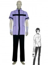 Bleach Cosplay Ishida Uryuu Quincy Uniform Cosplay Costume